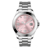 Montre Ice Watch - Ice steel Light pink with stones (M)