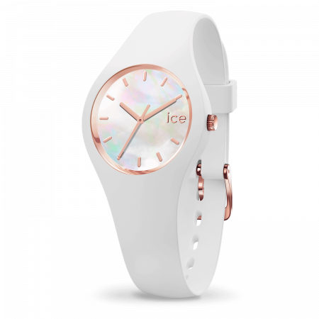 Montre Ice Watch Pearl Silicone Blanche (XS)