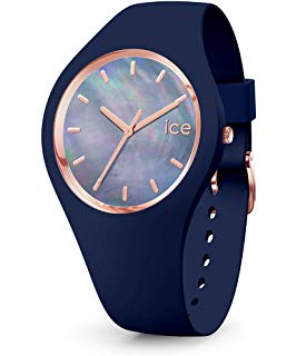 Montre Ice Watch Pearl Silicone Bleu (M)