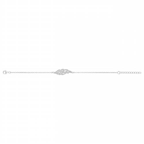 Bracelet aile argent zirconia