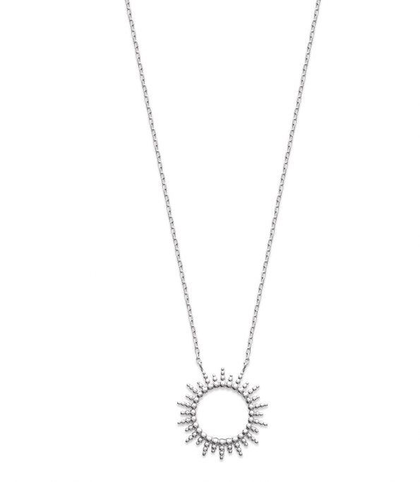 Collier argent -Nomade-