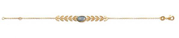 Bracelet en plaqué or Labradorite -Pierres naturelles-