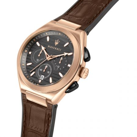 Montre Maserati Cuir Marron