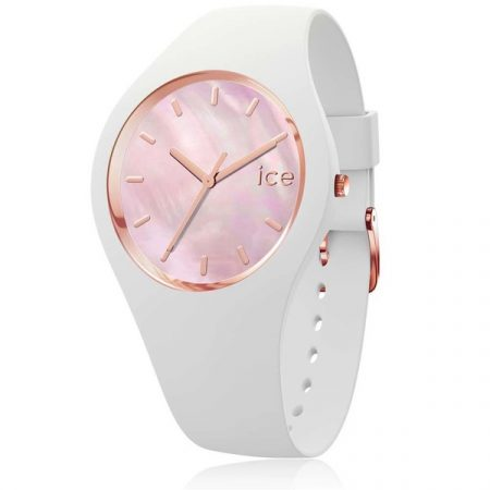 Montre Ice Watch Pearl Silicone Blanche (S)