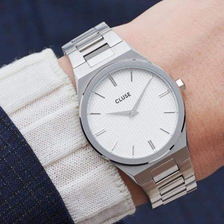 Montre Cluse Vigoureux Silver