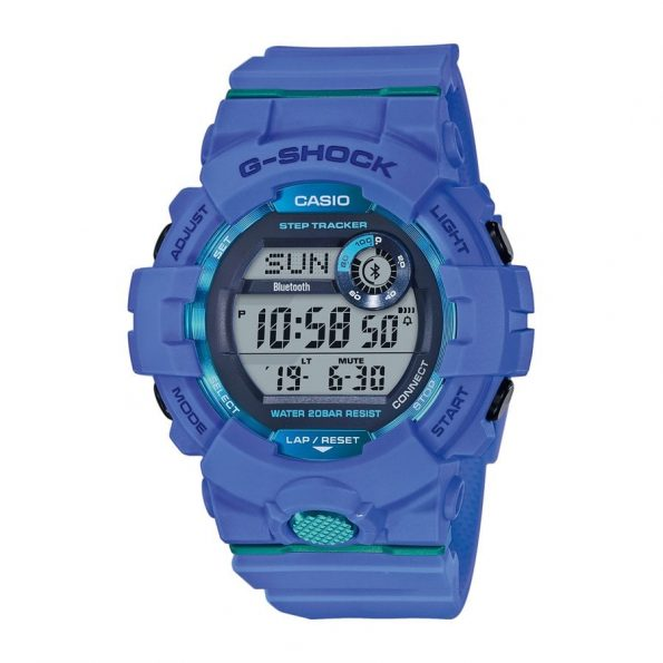 Montre Casio G-Shock Silicone Bleu Ciel