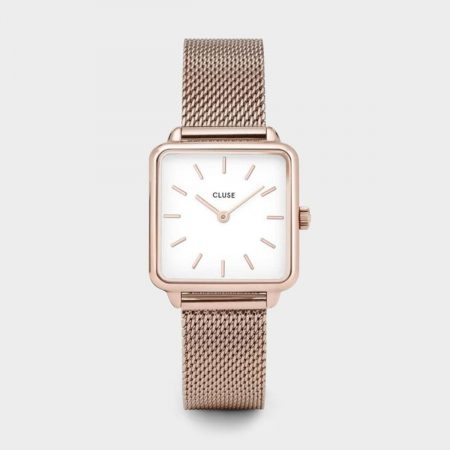 Montre Cluse Tétragone Rose Gold